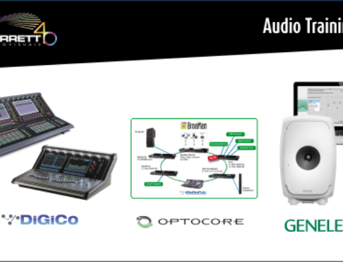 AUDIO TRAINING > Garrett Audiovisuais