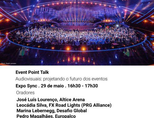 Event Point Talk – Audiovisuais: projetando o futuro dos eventos > Event Point